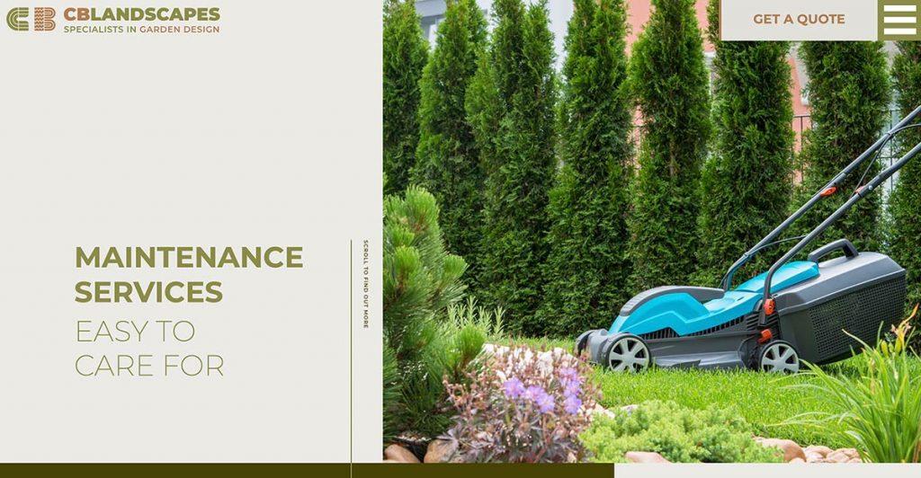 Maintenance Services - CB Landscapes