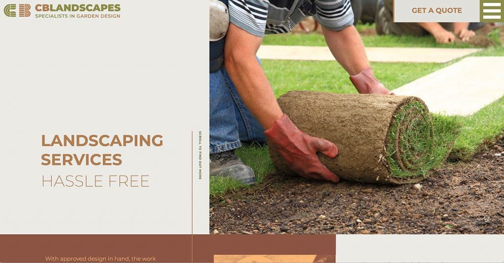 Landscaping Services - CB Landscapes