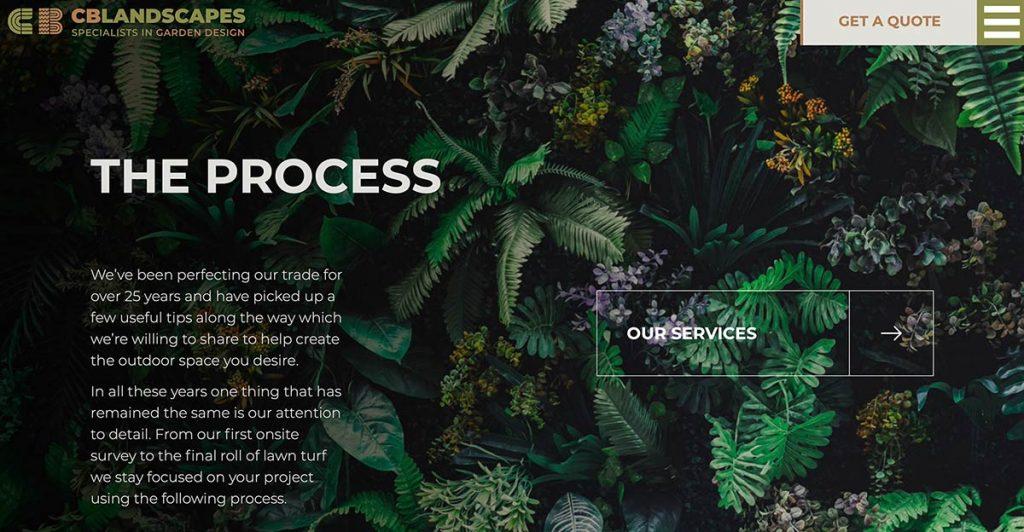 The Process - CB Landscapes